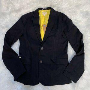 Bellerose Ice Ace Blazer Boys Black Jacket Size 14